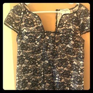 Chanel lace blouse
